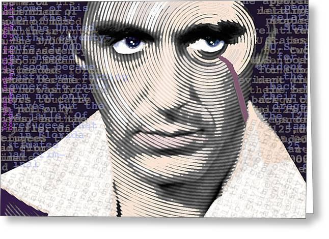 Passion Mixed Media Greeting Cards - Al Pacino Again Greeting Card by Tony Rubino