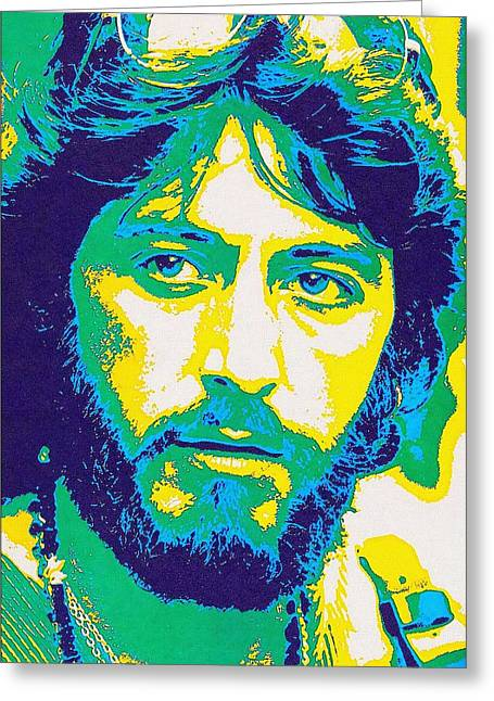 First Star Mixed Media Greeting Cards - Al Pacino in Serpico Greeting Card by Art Cinema Gallery