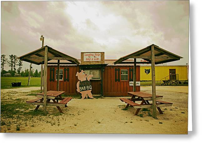 Pig Photos Greeting Cards - Alabama Barbecue Greeting Card by Mountain Dreams