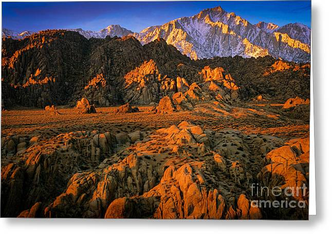 Alabama Greeting Cards - Alabama Hills Greeting Card by Inge Johnsson