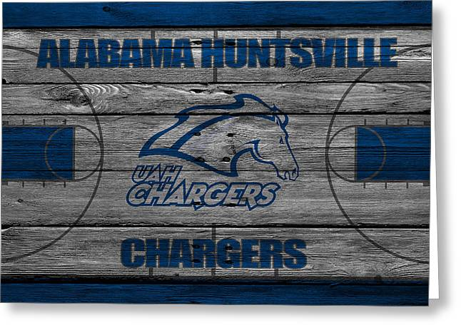 Division Greeting Cards - Alabama Huntsville Chargers Greeting Card by Joe Hamilton