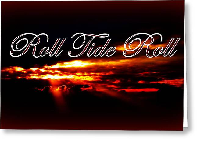 Alabama - Roll Tide Greeting Card by Travis Truelove