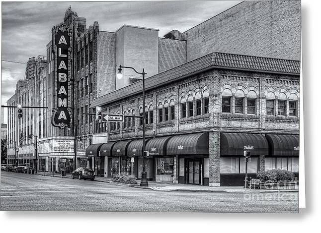 National Commercial Greeting Cards - Alabama Theatre II Greeting Card by Clarence Holmes