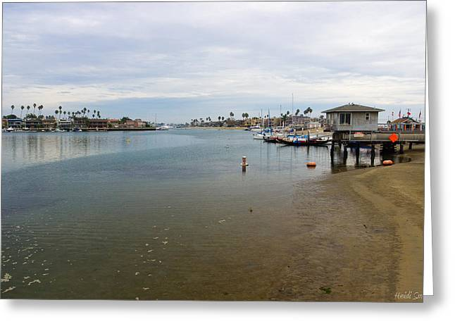 Pacfic Ocean Greeting Cards - Alamitos Bay Greeting Card by Heidi Smith