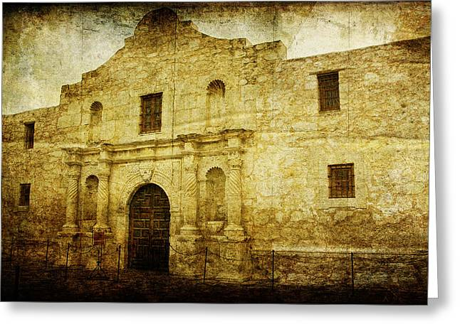 Bravery Greeting Cards - Alamo Remembered Greeting Card by Lincoln Rogers
