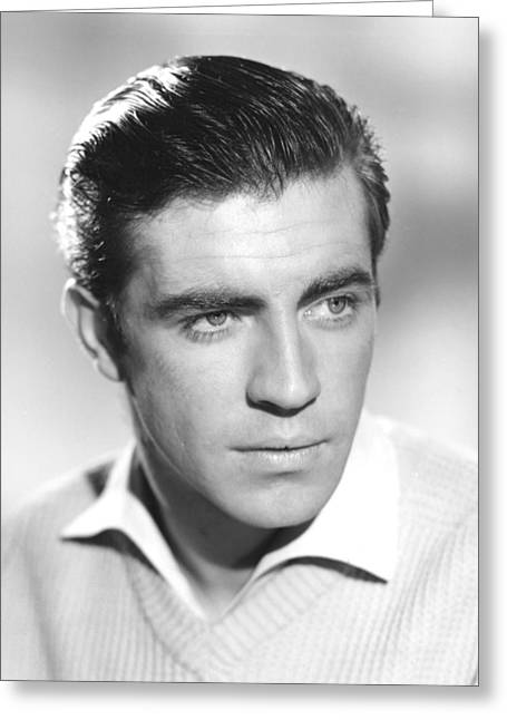 Bates Greeting Cards - Alan Bates in The Entertainer  Greeting Card by Silver Screen