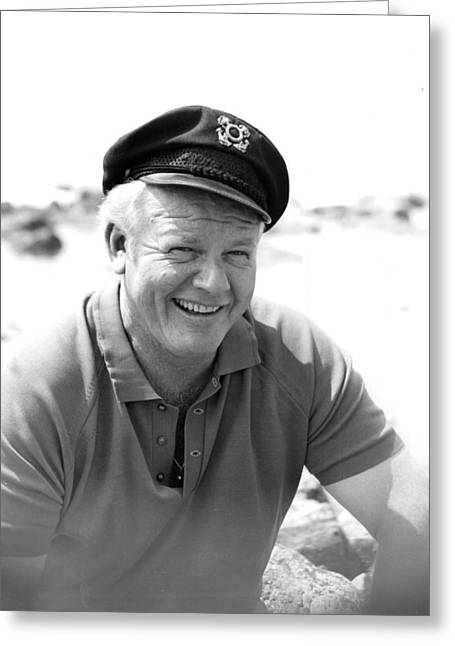Hale Greeting Cards - Alan Hale Jr. Greeting Card by Silver Screen