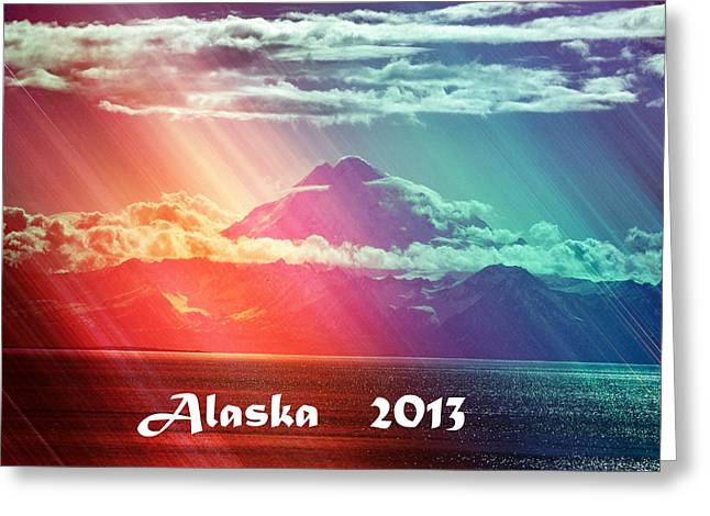 Alaska 2013 Greeting Card by Debra  Miller