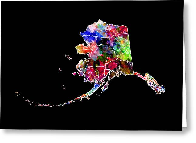 Deadliest Catch Greeting Cards - Alaska State 2 Greeting Card by Daniel Hagerman
