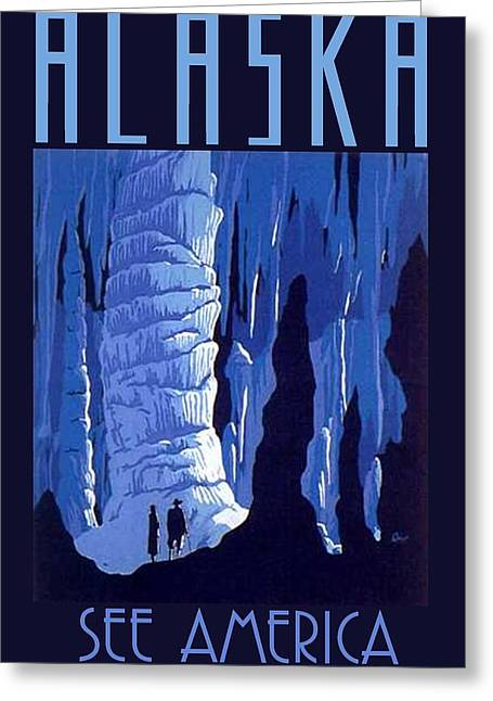 Rememberance Greeting Cards - Alaska Greeting Card by Steven Boland