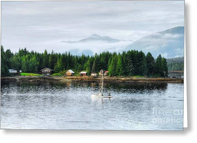 Ketchikan Greeting Cards - Alaska The Last Frontier Greeting Card by Mel Steinhauer
