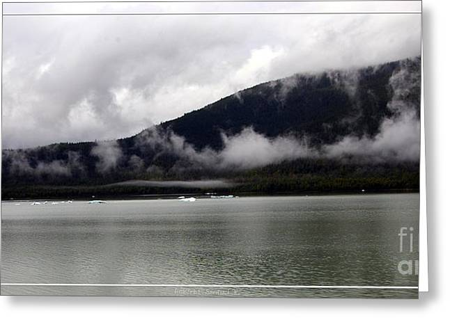 Juneau Park Greeting Cards - Alaskan Mendenhall Glacier Lake Greeting Card by Robert Santuci