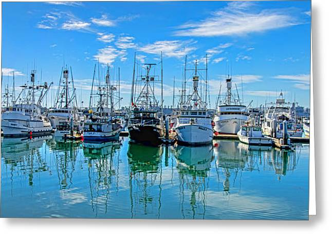 Albacore Greeting Cards - Albacore Fleet Greeting Card by Baywest Imaging