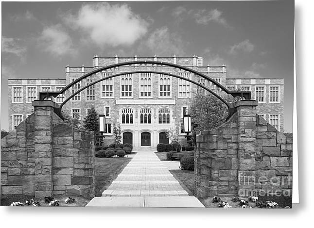 Special Occasion Greeting Cards - Albany Law School Gate Greeting Card by University Icons