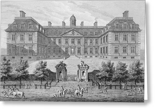 Restoration Drawings Greeting Cards - Albemarle House, Formerly Clarendon Greeting Card by Wise