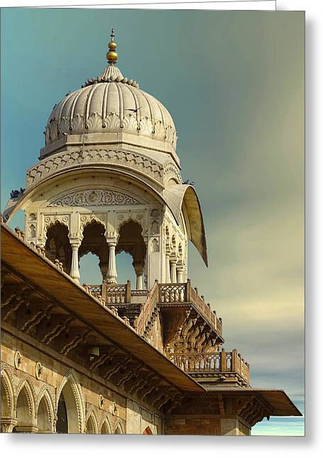 Ram Singh Greeting Cards - Albert Hall Arches Lattice Work Decorative Architecture Greeting Card by Sue Jacobi Photography