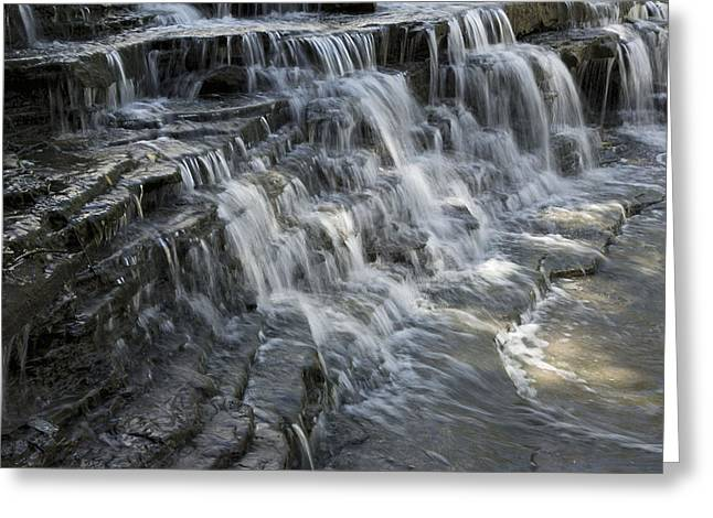 Chem Greeting Cards - Albion Falls - Exit Stage Left  Greeting Card by Hany Jadaa  Prince John Photography