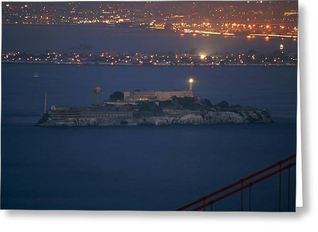 Alcatraz Greeting Cards - Alcatraz Greeting Card by Celso Diniz