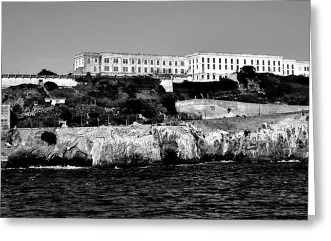 Alcatraz Greeting Cards - Alcatraz Federal Prison Greeting Card by Benjamin Yeager