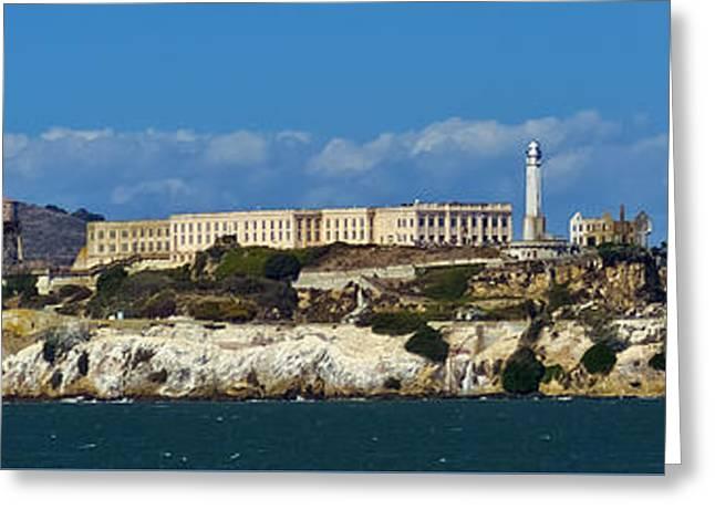 Alcatraz Greeting Cards - Alcatraz Greeting Card by Greg Reed