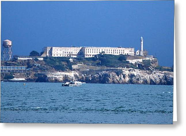 Dungeons Greeting Cards - Alcatraz island Greeting Card by HQ Photo
