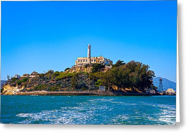 Alcatraz Greeting Cards - Alcatraz Island Greeting Card by James O Thompson