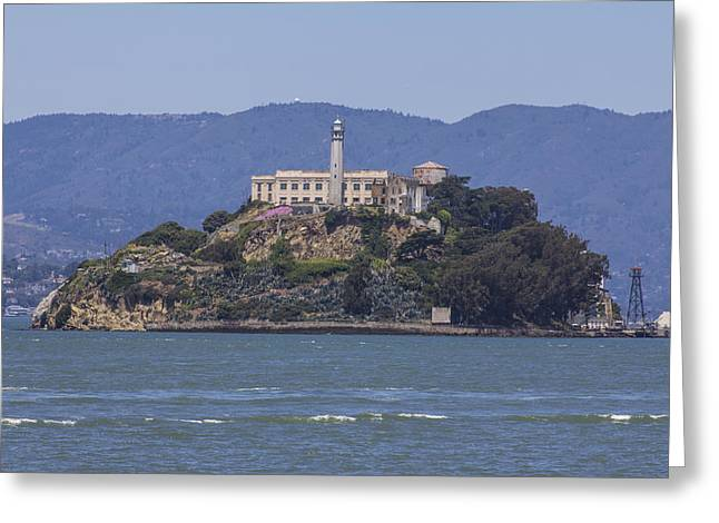Alcatraz Greeting Cards - Alcatraz Island Greeting Card by John McGraw