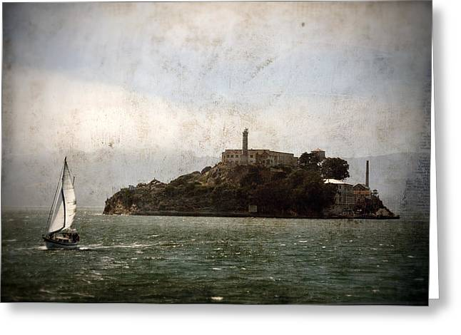 Alcatraz Greeting Cards - Alcatraz Island Greeting Card by RicardMN Photography