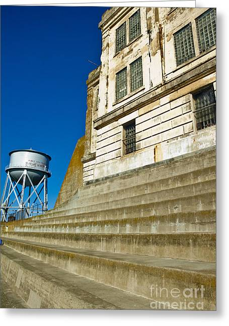 Recently Sold -  - Alcatraz Greeting Cards - Alcatraz Greeting Card by Micah May