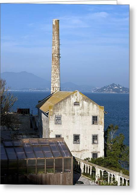 Alcatraz Greeting Cards - Alcatraz Storehouse Greeting Card by Jason O Watson