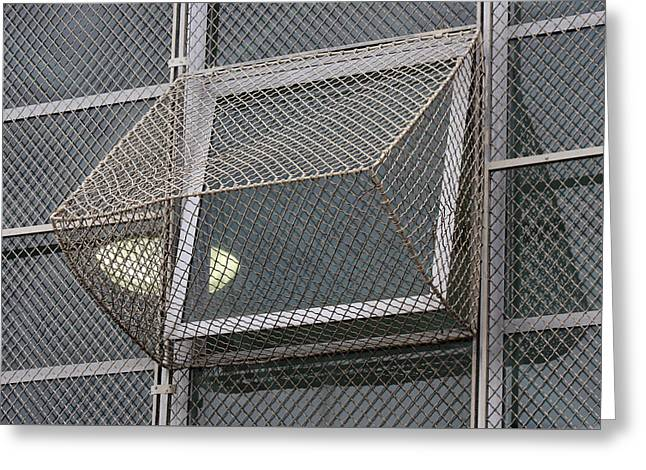 Rectangles Greeting Cards - Alcatraz Window Greeting Card by Art Block Collections