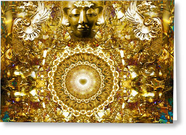 Alchemy of the Heart Greeting Card by Jalai Lama