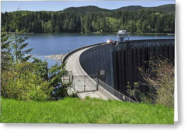 Generators Greeting Cards - Alder Dam 2 Greeting Card by Roger Reeves  and Terrie Heslop