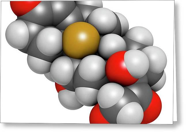 Aldosterone Hormone Substitution Drug Greeting Card by Molekuul