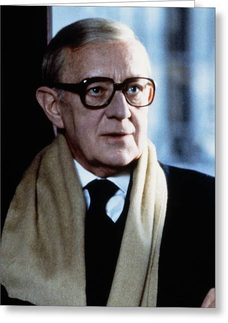 Tailor Greeting Cards - Alec Guinness in Tinker, Tailor, Soldier, Spy  Greeting Card by Silver Screen