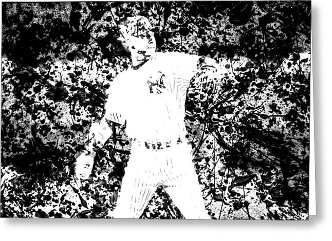 All Star Game Digital Art Greeting Cards - Alex Rodriguez 2b Greeting Card by Brian Reaves