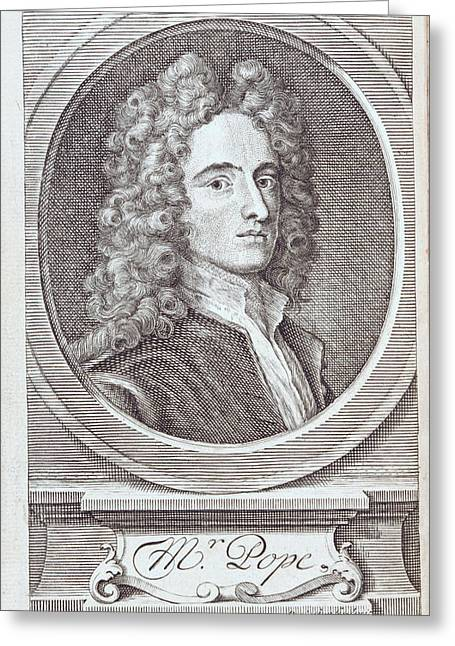 Alexander Pope Greeting Card by British Library