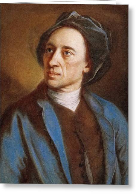 Alexander Pope Greeting Card by Miriam And Ira D. Wallach Division Of Art, Prints And Photographs/new York Public Library