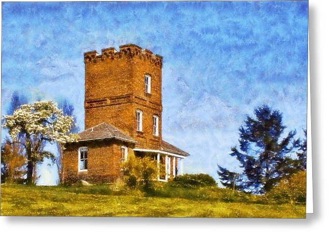Townsends Inlet Greeting Cards - Alexanders Castle Greeting Card by Kaylee Mason