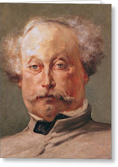 Alexandre Greeting Cards - Alexandre Dumas Greeting Card by Georges Clairin