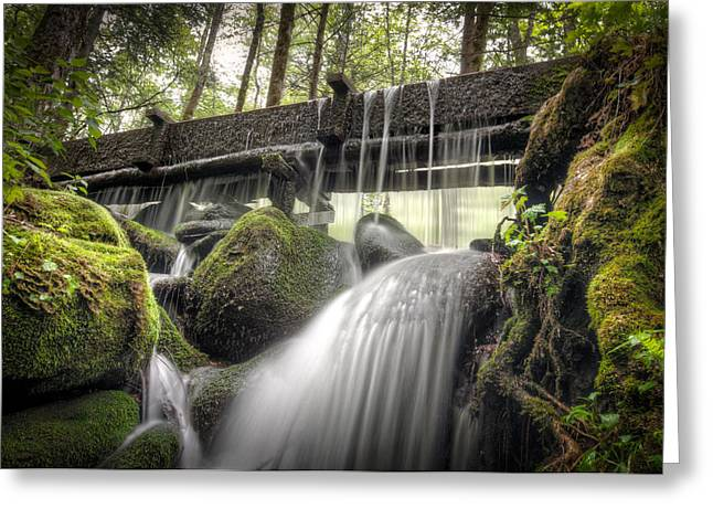 Alfred Reagan Greeting Cards - Alfred Reagan Tub Mill Overflow Greeting Card by Alex Banakas