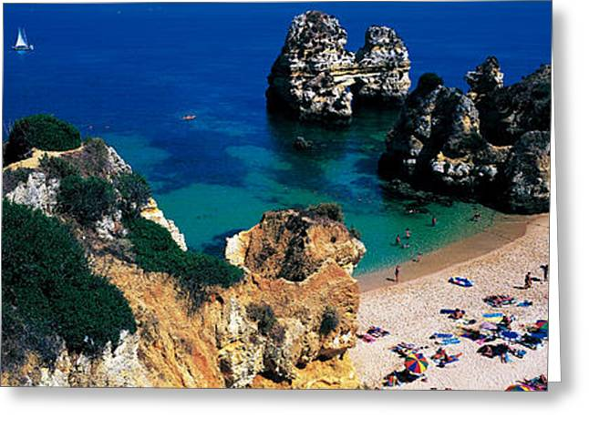 Algarve Greeting Cards - Algarve Portugal Greeting Card by Panoramic Images