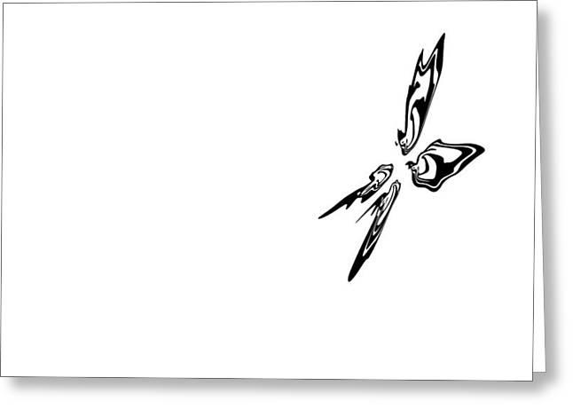 China Beach Greeting Cards - Ali di farfalla Greeting Card by James David Mancini