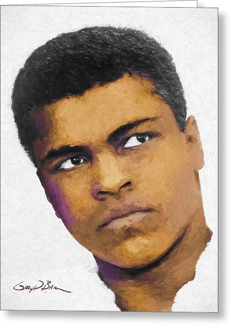 Ali Greeting Card by Gary D Baker