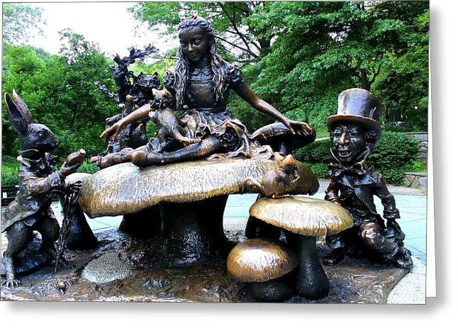 Mad Hatter Photographs Greeting Cards - Alice In Wonderland  Greeting Card by Debra Forand