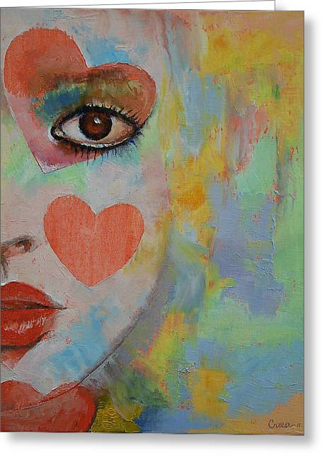 Alice Greeting Cards - Alice in Wonderland Greeting Card by Michael Creese