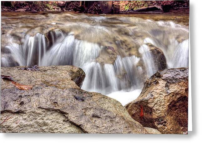 Alabama Greeting Cards - Alien Head Waterfalls of Alabama Greeting Card by JC Findley