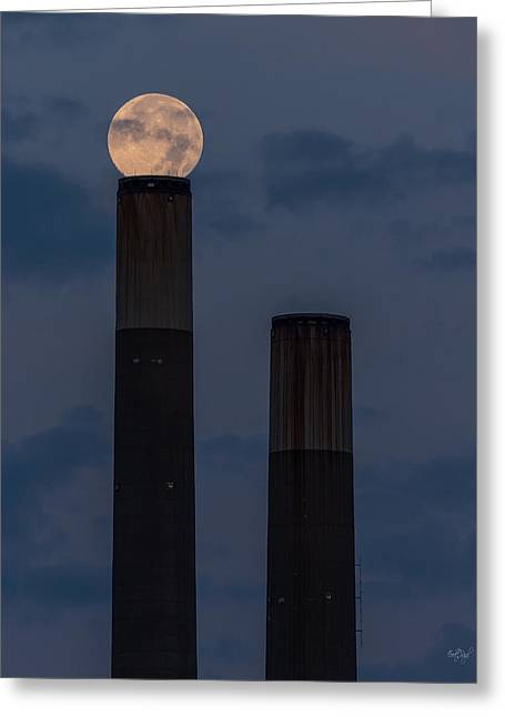 Smokestack Greeting Cards - Aligning Worlds Greeting Card by Everet Regal