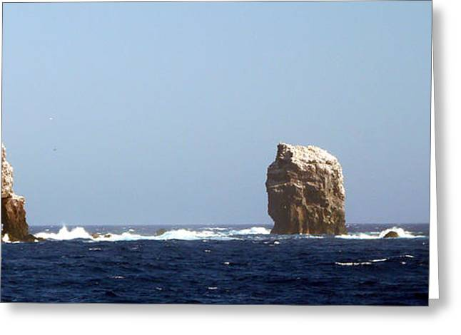 Wahoo Greeting Cards - Alijos Triple Arch 3 Greeting Card by Alex Mobile