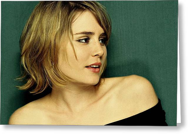 Alison Lohman  Greeting Card by Movie Poster Prints